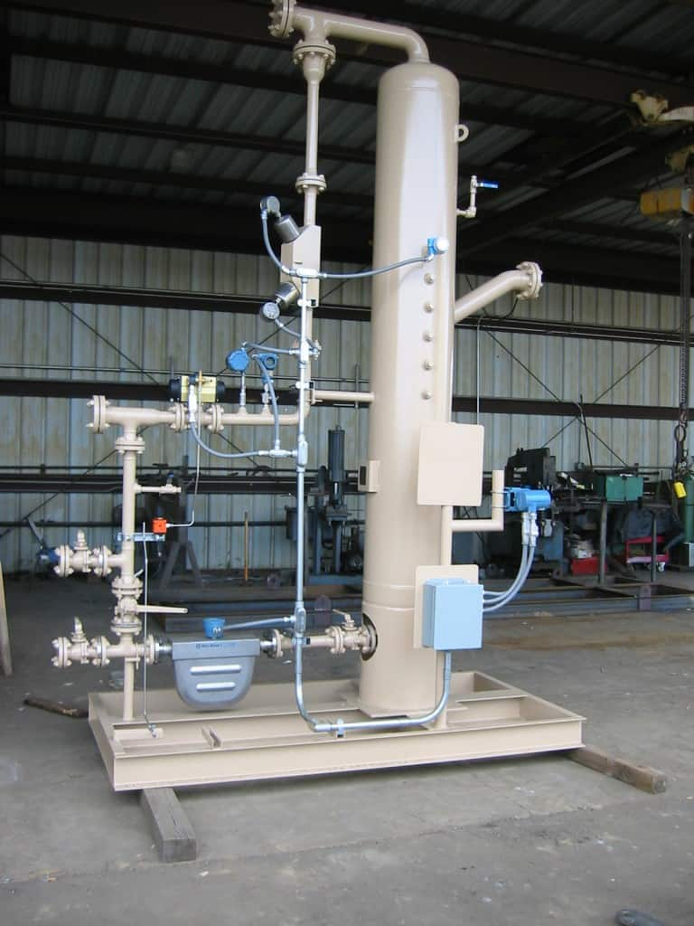 2-phase JR multiphase test separator