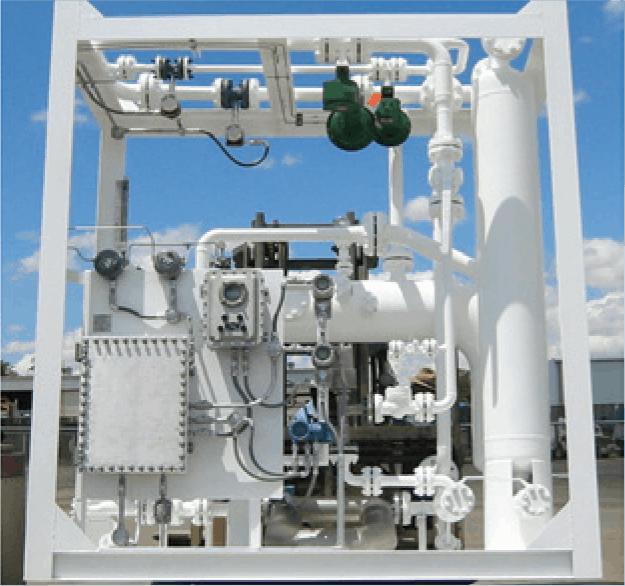 2-phase LT multiphase test separator offshore
