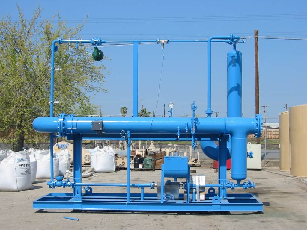 2-phase SR multiphase test separator
