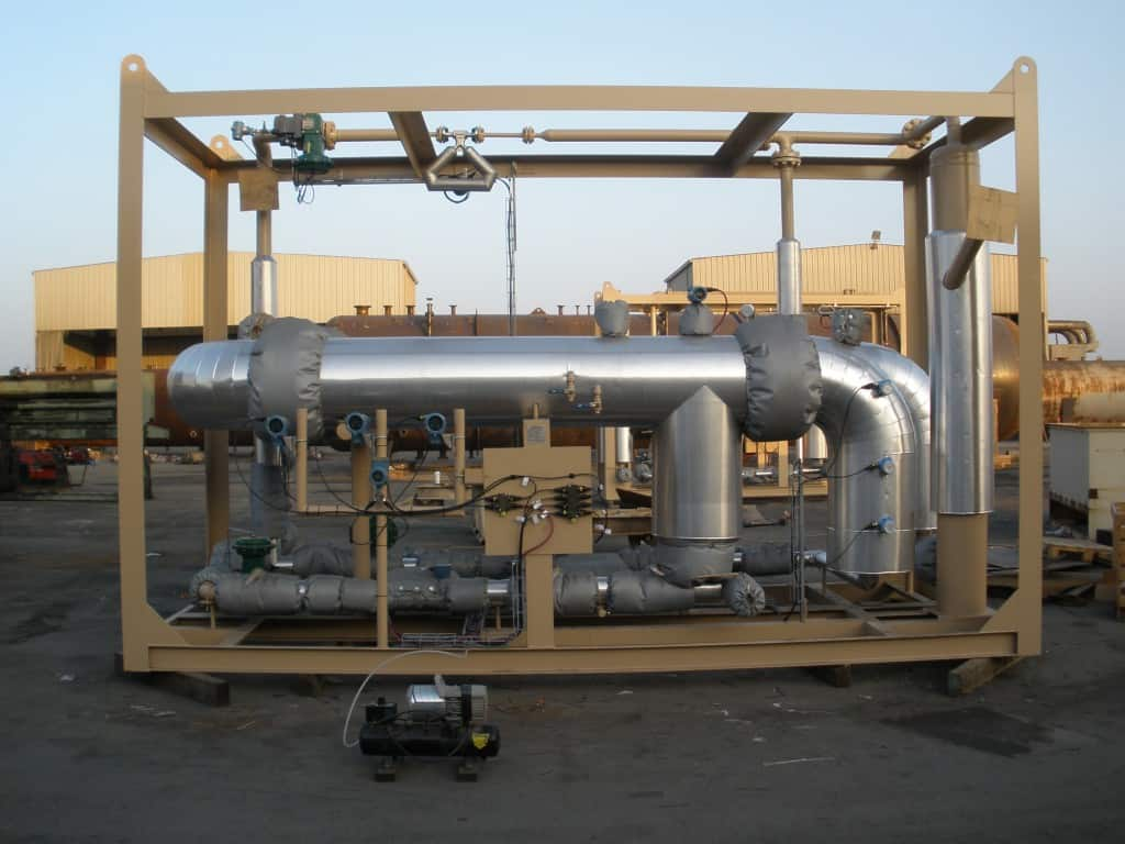 3-phase SR multiphase test separator