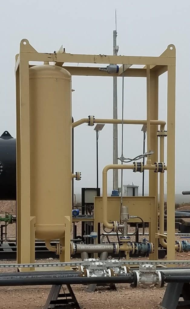 2-phase JR multiphase test separator Argentina