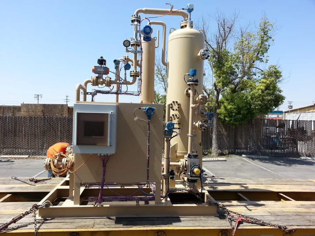 3-phase JR multiphase test separator