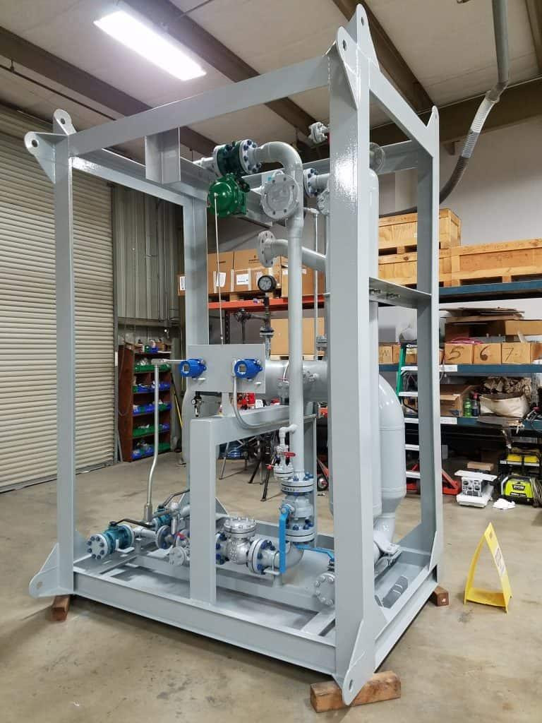 2-phase LT multiphase test separator offshore DRC