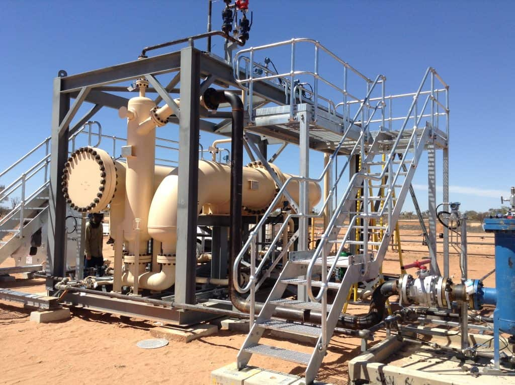 3-phase SR multiphase test separator Australia